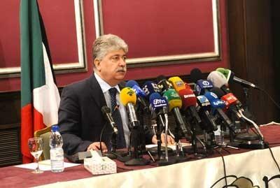 Palestinian Labor Minister Ahmad Majdalani