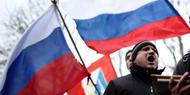 Protest in Crimea