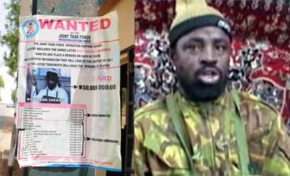 Boko Haram leader Abubakar Shekau-WANTED