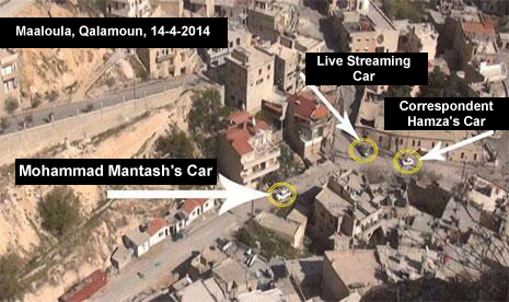 Militants Opened Fire on Al-Manar Crew in Maaloula