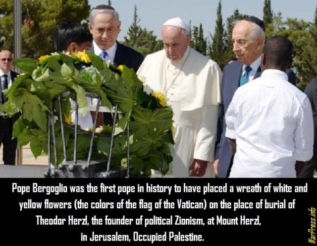 Bergoglio-Zionist-20140525-Theodor-Herzl-tomb