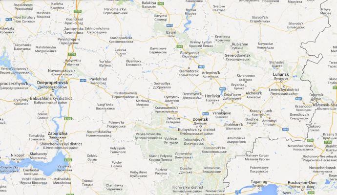 Donetsk Region Map-2