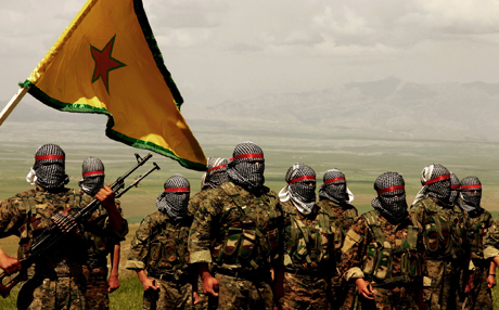 YPG Kurds Resistent Fighters