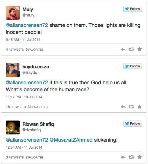 Twitter-Gaza-response