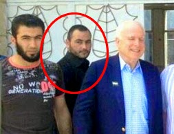 John McCain and the leader of ISIS